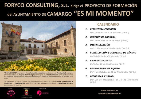 Proyecto «Es mi momento» Ayto. de Camargo